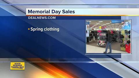 What to expect for Memorial Day sales
