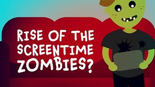Should we let our kids become screen time zombies? - Video