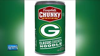Packers-branded Chunky Soup cans are now available - Video