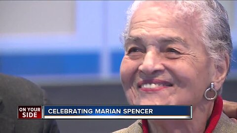 Civil rights icon Marian Spencer to be honored with statue