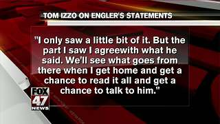 Izzo agrees with Engler about ESPN report - Video