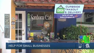 Owner discovers Boca Raton business too small for pandemic aid