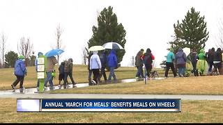 March for Meals Raises Funds for Meals on Wheels - Video