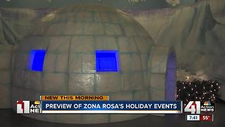 Zona Rosa's holiday events - Video