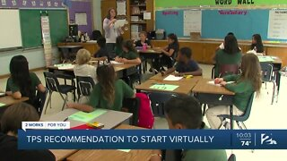 Tulsa Public Schools recommends distance learning to start 2020-21 school year