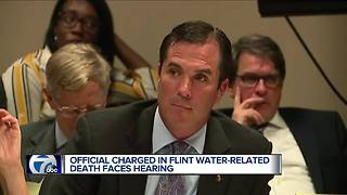 First high stakes criminal case in Flint Water Crisis goes to court - Video