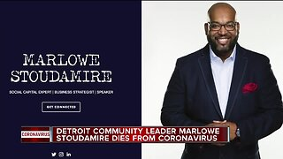 Beloved Detroit community leader Marlowe Stoudamire dies after contracting coronavirus