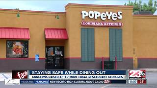 Staying safe while dining out amid recent restaurant closures - Video