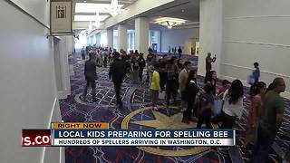 Local kids preparing for spelling bee - Video