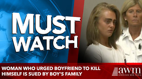 Woman Who Urged Boyfriend To Kill Himself Is Sued By Boy's Family