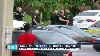 St. Pete lawmaker rallying support to repeal 'Stand Your Ground' changes after Clearwater shooting - Video