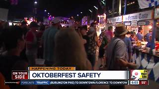 How Oktoberfest Zinzinnati makes sure festival-goers stay safe - Video