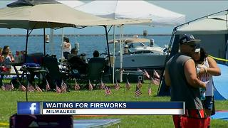 Veterans Park fireworks a tradition for Milwaukee families - Video