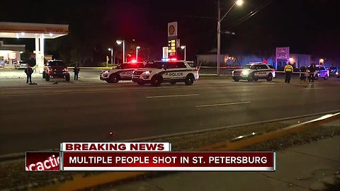 Two dead, one injured in shooting at St. Pete gas station