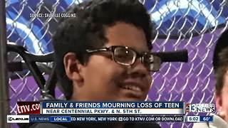 UPDATE: Family and friends remember North Las Vegas teen killed in crash