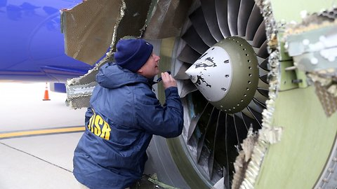 More Cracked Engine Blades Found After Deadly Southwest Flight