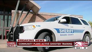 Oklahoma deputies show vigliance after Florida shooting - Video