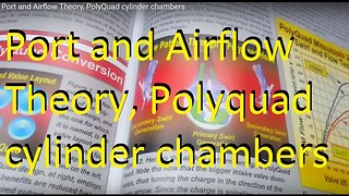 Port and Airflow Theory, PolyQuad cylinder chambers, Creating Swirl  - Video