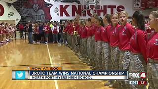 North Fort Myers JROTC wins national title