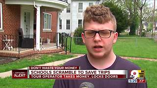 Devastated students learn their D.C. trip canceled - Video