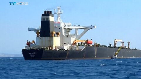 Iranian Oil Tanker Changes Course After Greece Refuses To Get Involved