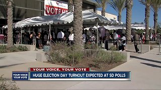 San Diegans head to the polls on Election Day