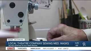 Tucson organizations sew medical masks for local heroes