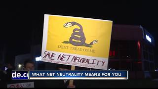 Protesters take a stand for net neutrality in Boise - Video