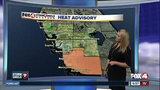 Heat Advisory in Collier County with Heat Indices 105º-110º in SWFL - Video