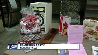 Community Missions in Niagara Falls hosts a re-gifting party