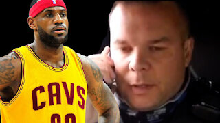 REAL COPS TROLLING LEBRON JAMES!