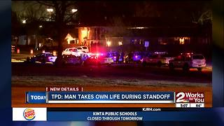 Man takes own life during standoff overnight near 6th and Lewis