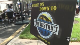 "Clearwater's downtown Cleveland Street relaunches as ""The District"""