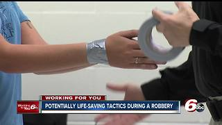 Protecting yourself during a robbery - Video
