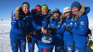 Ice Maidens Become First All-Women Ski Team to Cross Antarctica