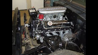 1963 Ford FE 406 Tri-Power Engine first run after rebuild!