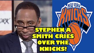 Stephen A Smith CRIES over the New York Knicks on First Take!