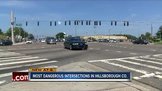 Most dangerous intersections in Hillsborough County - Video