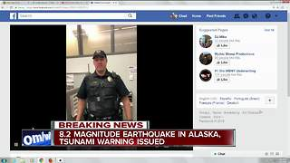 Earthquake breaking news - Video