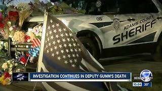 Adams County sheriff won't name deputy shooting suspect, says 2 others remain outstanding - Video