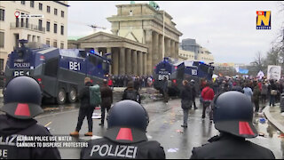 Mass arrests across Germany and England