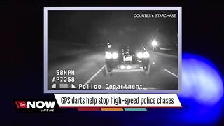 GPS darts help stop high-speed police chases, local departments - Video