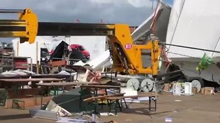 Storm Ali Cause Wreaks Havoc on Ireland's National Ploughing Championships - Video