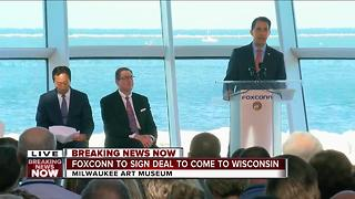 Foxconn technology impresses Governor Walker