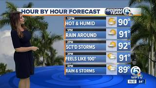 South Florida Monday afternoon forecast (6/4/18)