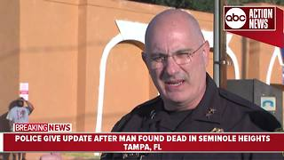 Seminole Heights Shooting: Tampa police identify victim, likely related to recent Tampa killings - Video