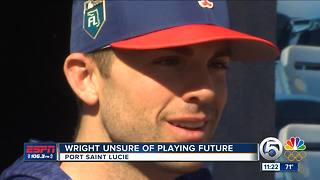 David Wright talks about his future with the Mets