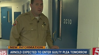 Sheriff Arnold Expected To Enter Guilty Plea