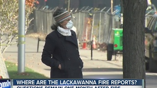 Where are the Lackawanna fire records? - Video