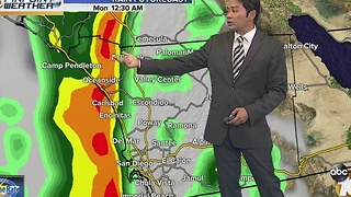 Robert's forecast for November 20, 2016 - Video